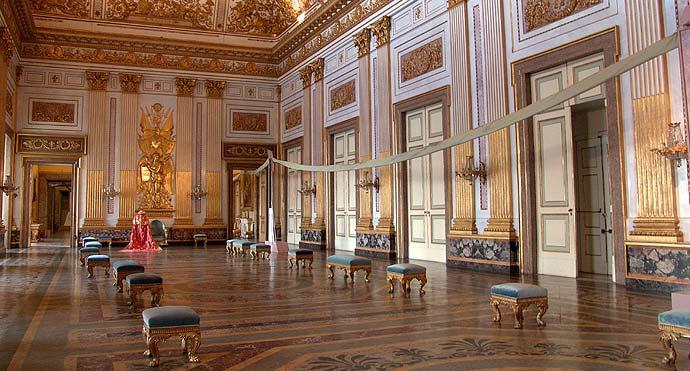 Sudalia reggia di caserta e real seterie for Interno kensington palace