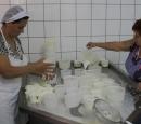 Preparazione del formaggio